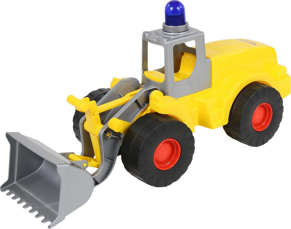 Полесье Трактор-погрузчик с маячком Гранит