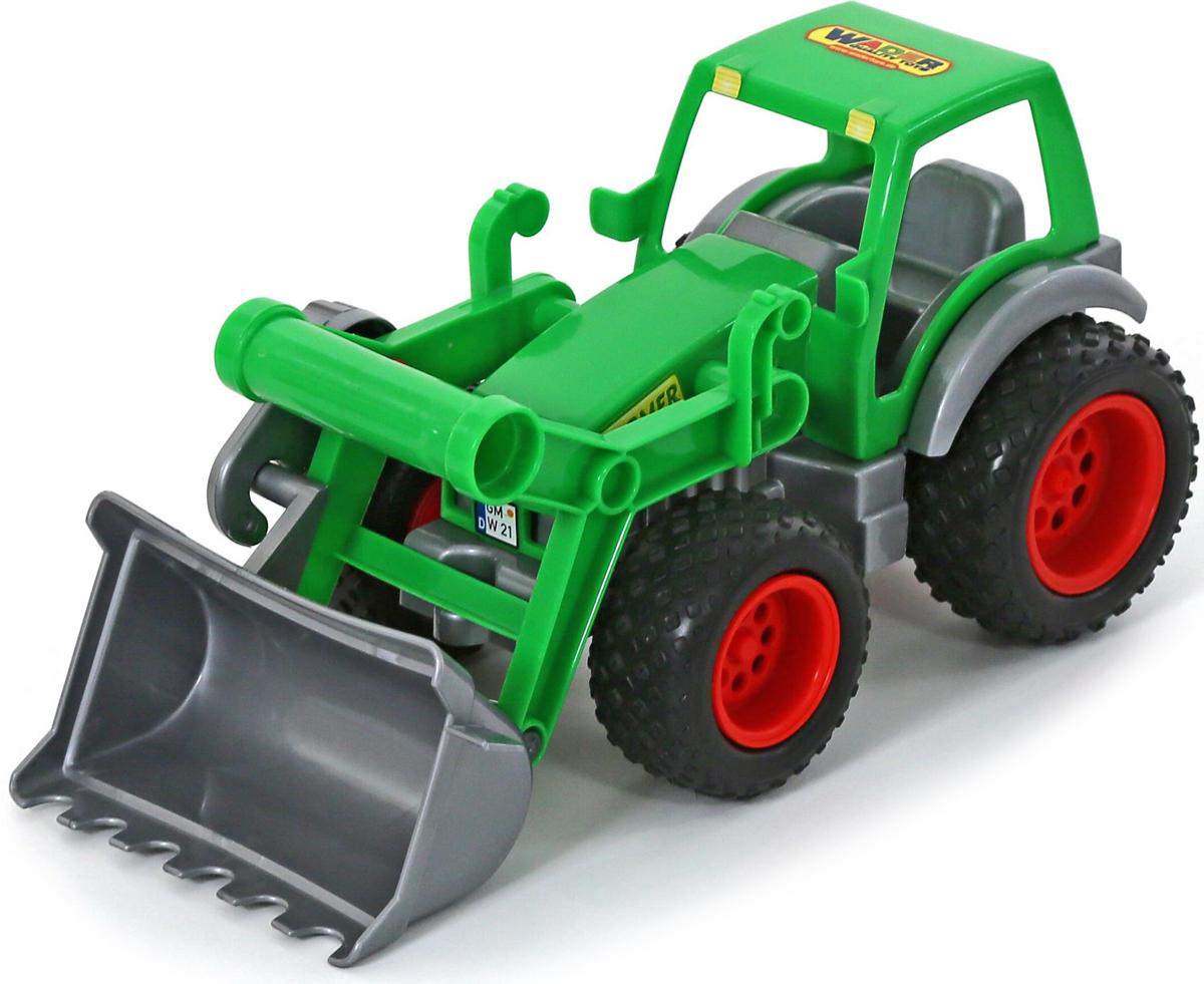 Полесье Трактор-погрузчик Фермер-техник игрушки для детей