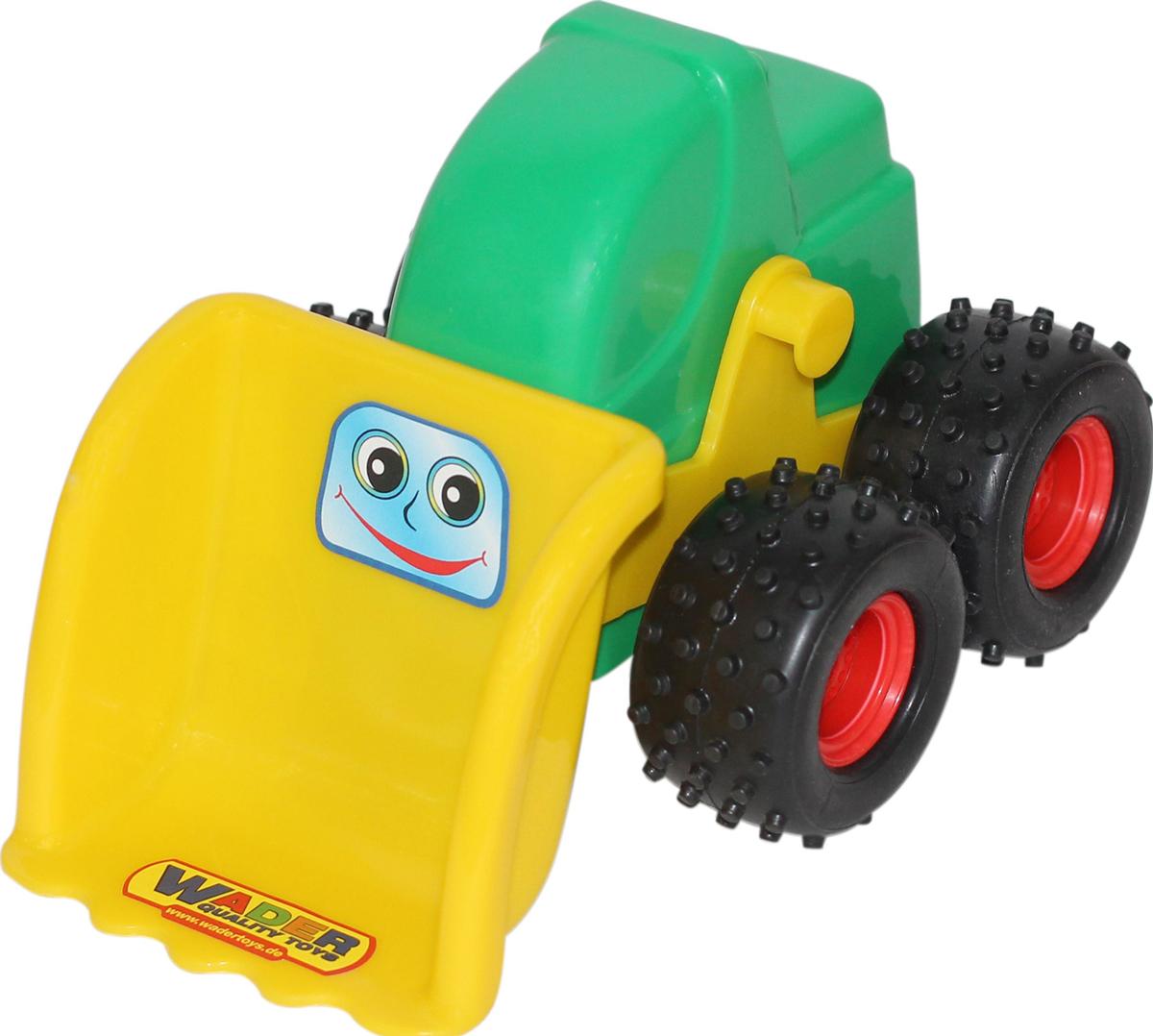 полесье трактор чемпион цвет синий желтый Полесье Трактор-погрузчик Чип