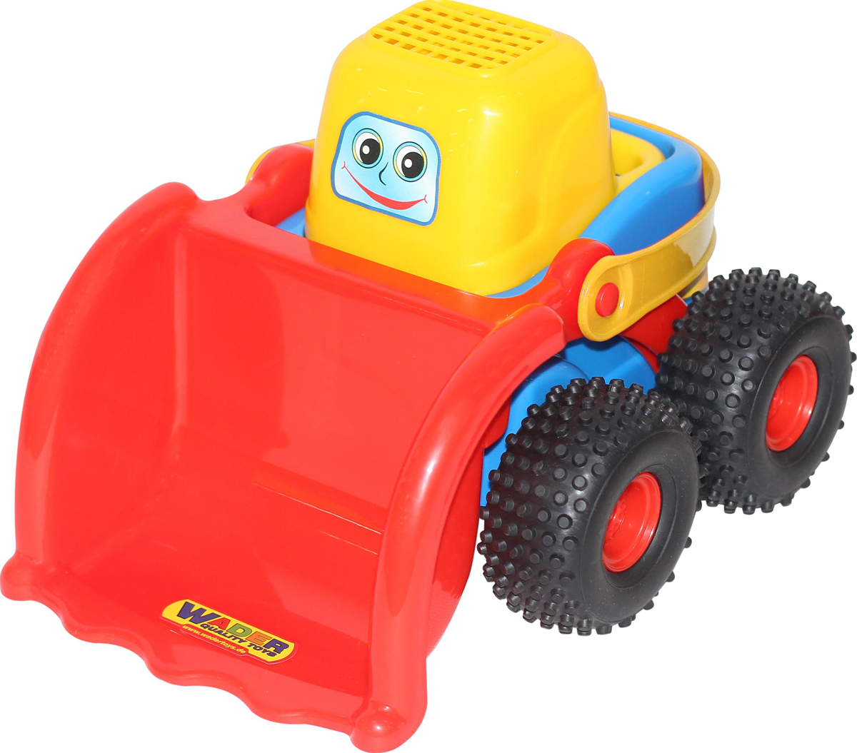 Полесье Трактор-погрузчик Чип-макси машина детская полесье полесье набор автомобиль трейлер трактор погрузчик