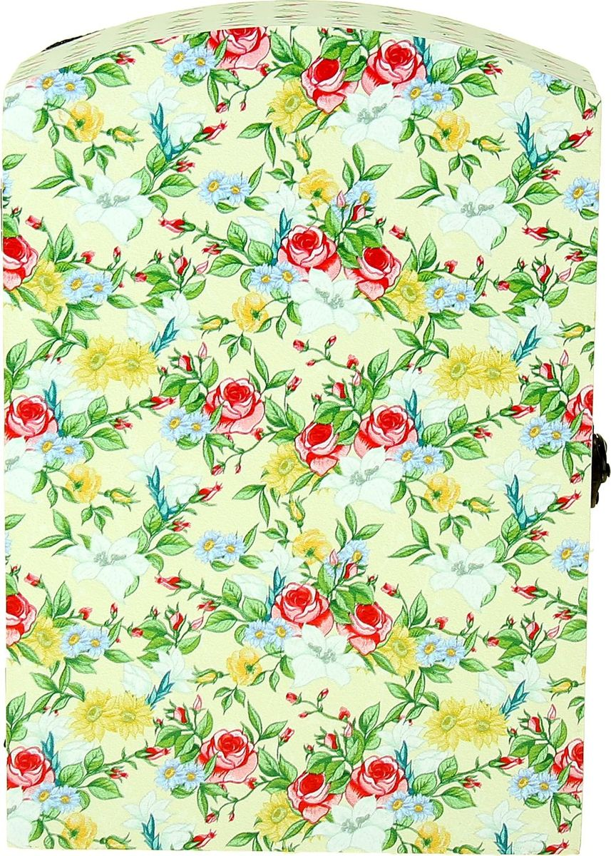 "Ключница настенная ""Весеннее цветение"", 29 х 20 х 7,5 см, NoName"