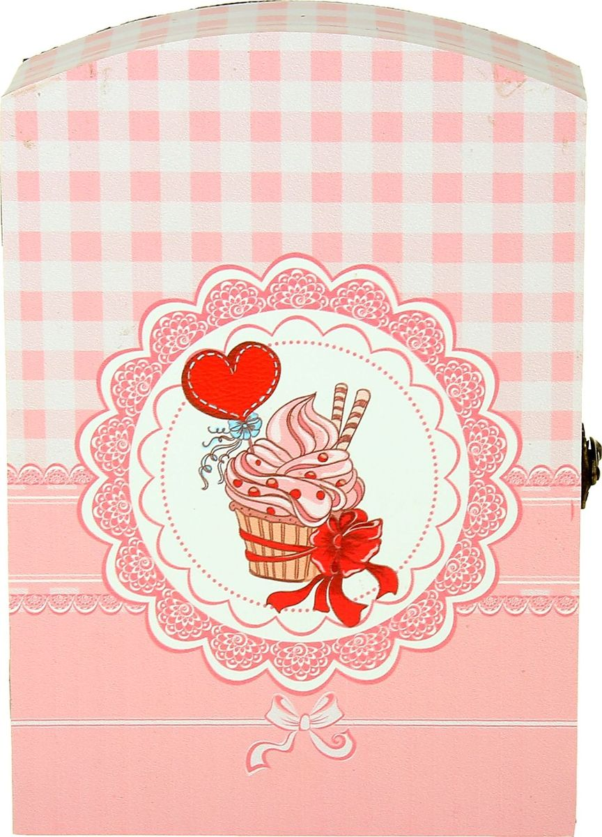 Zakazat.ru Ключница настенная Пирожное с любовью, 29 х 20 х 7,5 см