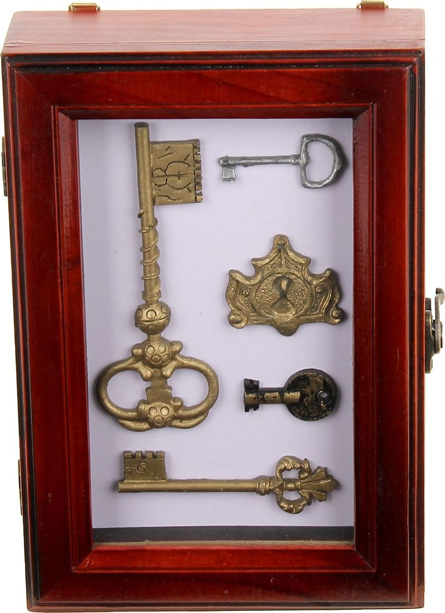 Ключница настенная Ключи от покоев, 25 х 17 х 7 см1058392Перед вами — сувенир в полном смысле этого слова. И главная его задача — хранить воспоминание о месте, где вы побывали, или о том человеке, который подарил данный предмет. Преподнесите эту вещь своему другу, и она станет достойным украшением его дома.
