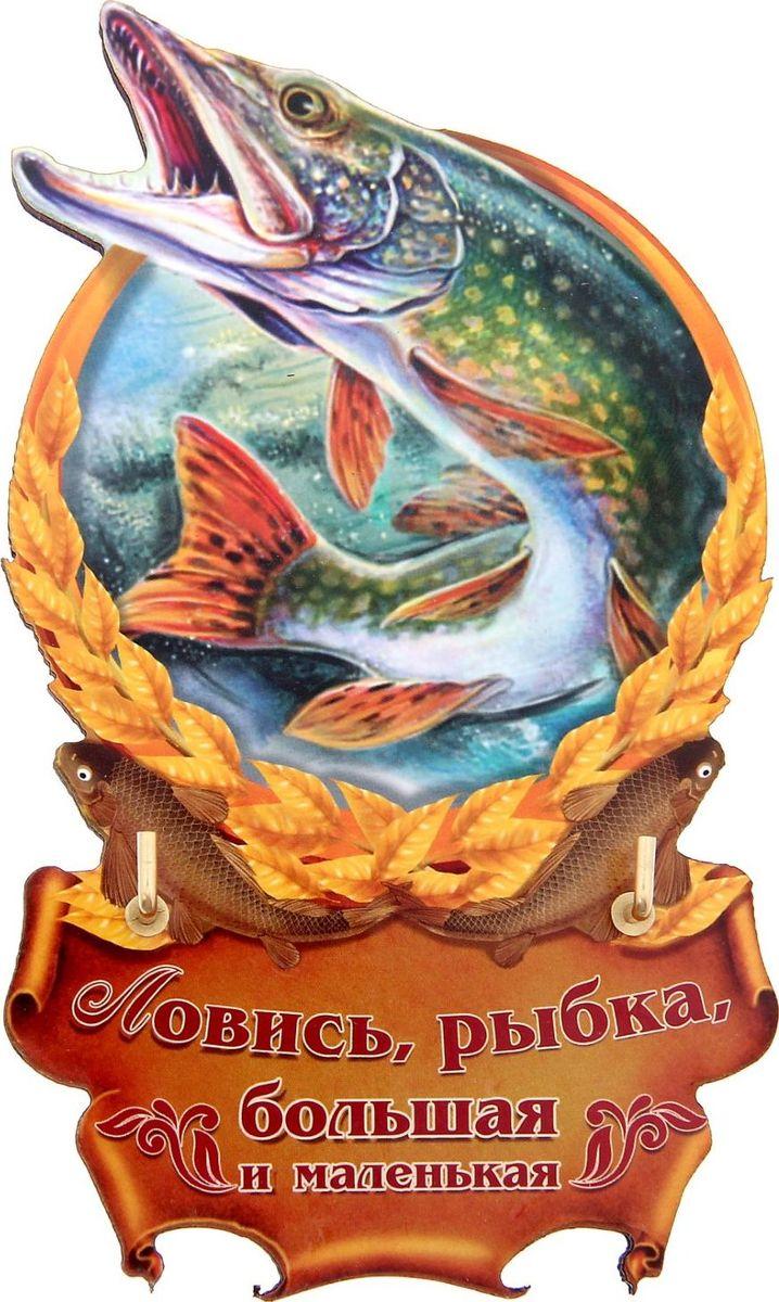 Ключница настенная Ловись рыбка, 13,2 х 7,9 х 0,5 см