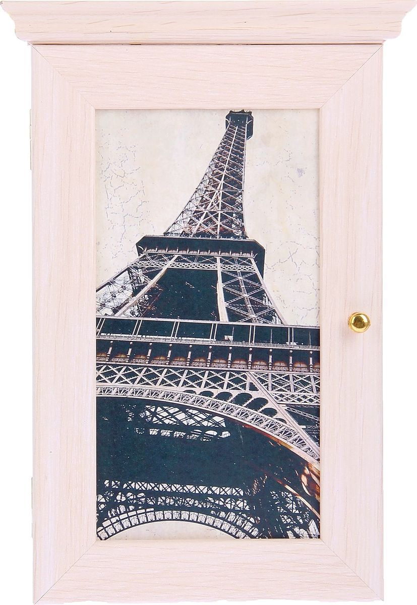 Ключница настенная АГТ-Профиль Эйфелева башня Парижа, 28 х 16,5 см1223295Если вы отдаете предпочтение классической элегантности – ненавязчивой и вместе с тем очень стильной, эта изысканная ключница от российского поставщика наверняка придется вам по душе. Она не только украсит стену прихожей, но и сэкономит ваше время: вешая ключи на ее крючочки, вы всегда будете помнить, где их оставили, и больше не придется искать их в утренней спешке по всему дому. Приобретая такую вещицу, вы делаете выбор в пользу красоты и функциональности.