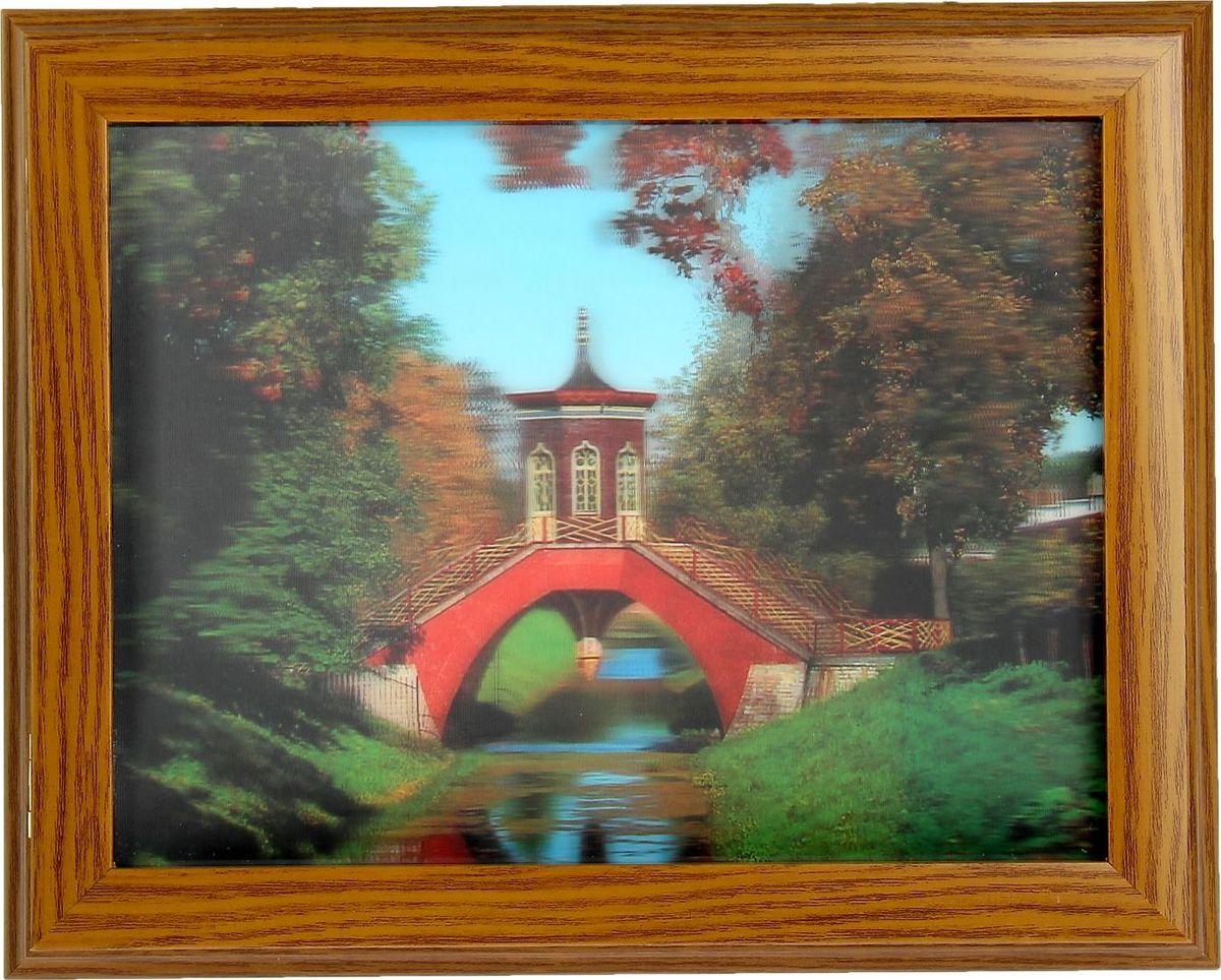 Ключница настенная 3D Мастер Рио Мост через реку, 25 х 30 х 5 см1239954Перед вами — сувенир в полном смысле этого слова. И главная его задача — хранить воспоминание о месте, где вы побывали, или о том человеке, который подарил данный предмет. Преподнесите эту вещь своему другу, и она станет достойным украшением его дома.