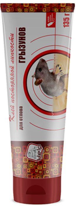 Клей постоянной липкости HELP, 135 г80281Клей постоянной липкости Help относится к механическим средствам уничтожения грызунов, наиболее эффективен в отношении мышей. Применяется для самостоятельного изготовления ловушек. Для борьбы с грызунами (мыши, крысы) нанести клей на подставки с гладкой поверхностью (дерево, пластик, стекло и так далее) полосой шириной 0,5-1 см для мышей или 2-3 см для крыс. Применение:Расставить подставки в местах наиболее вероятной миграции грызунов. Для большей эффективности рекомендуется использовать приманку.