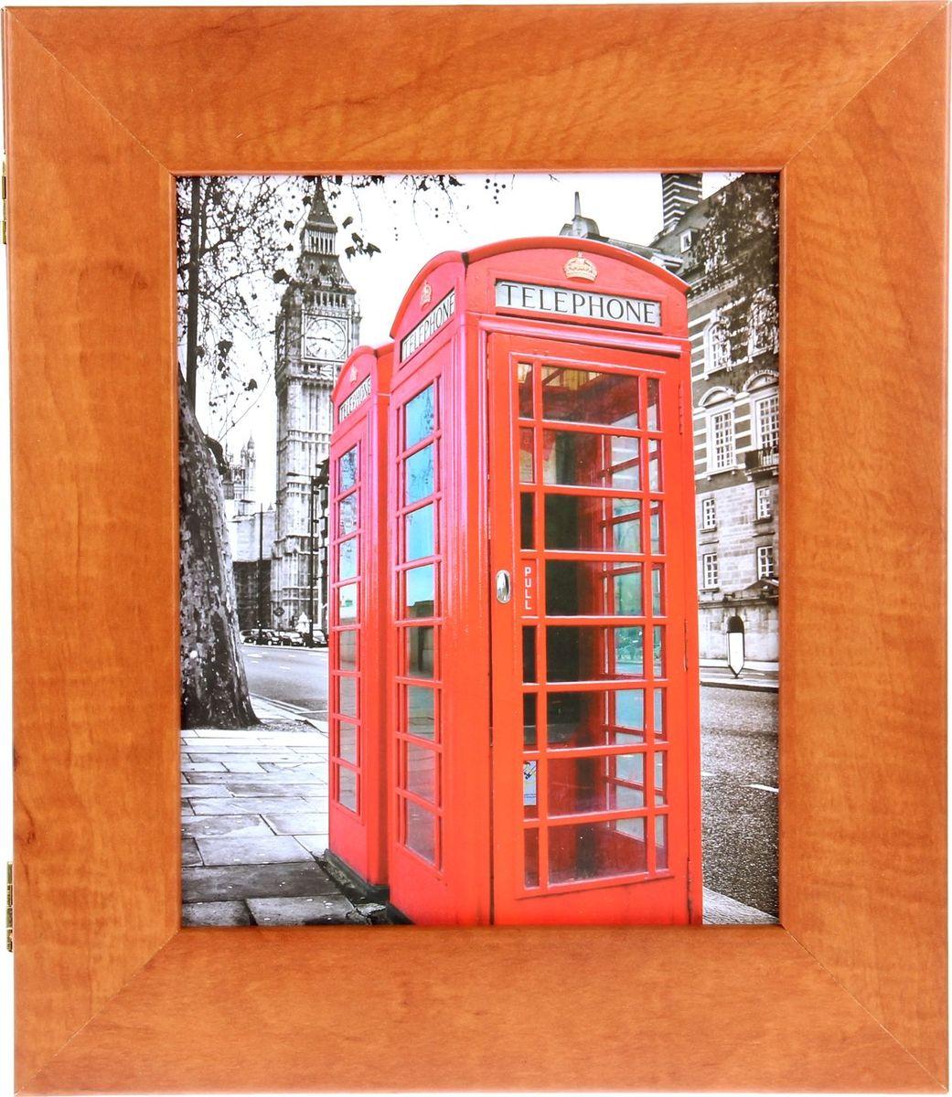 Ключница настенная АГТ-Профиль Британия, 35 х 30 х 5,5 см269849Ключница Британия — универсальный аксессуар: сейф для ключей, украшение интерьера, напоминание о незабываемом путешествии или даже медовом месяце в Англии, а ведь с помощью этого предмета можно сделать сюрприз. Представьте, как оригинально можно сделать подарок любимой, если повесить на один из крючков ключ от номера отеля в Лондоне или просто поместить туда пару билетов на самолет и маленькую статуэтку Тауэрского моста.