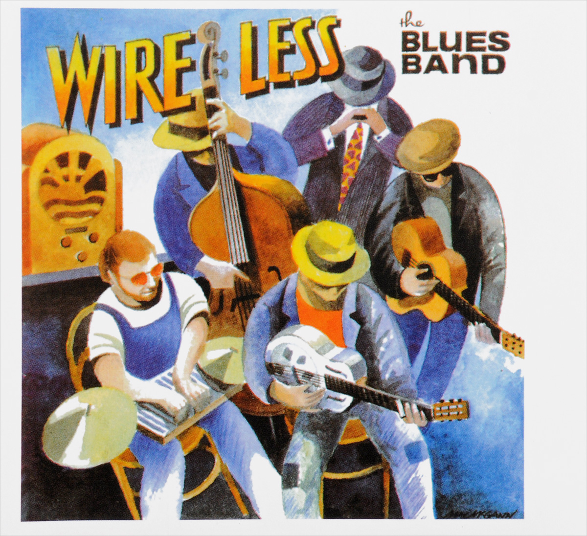 Blues Band The Blues Band. Wire Less гэри мур the midnight blues band gary moore