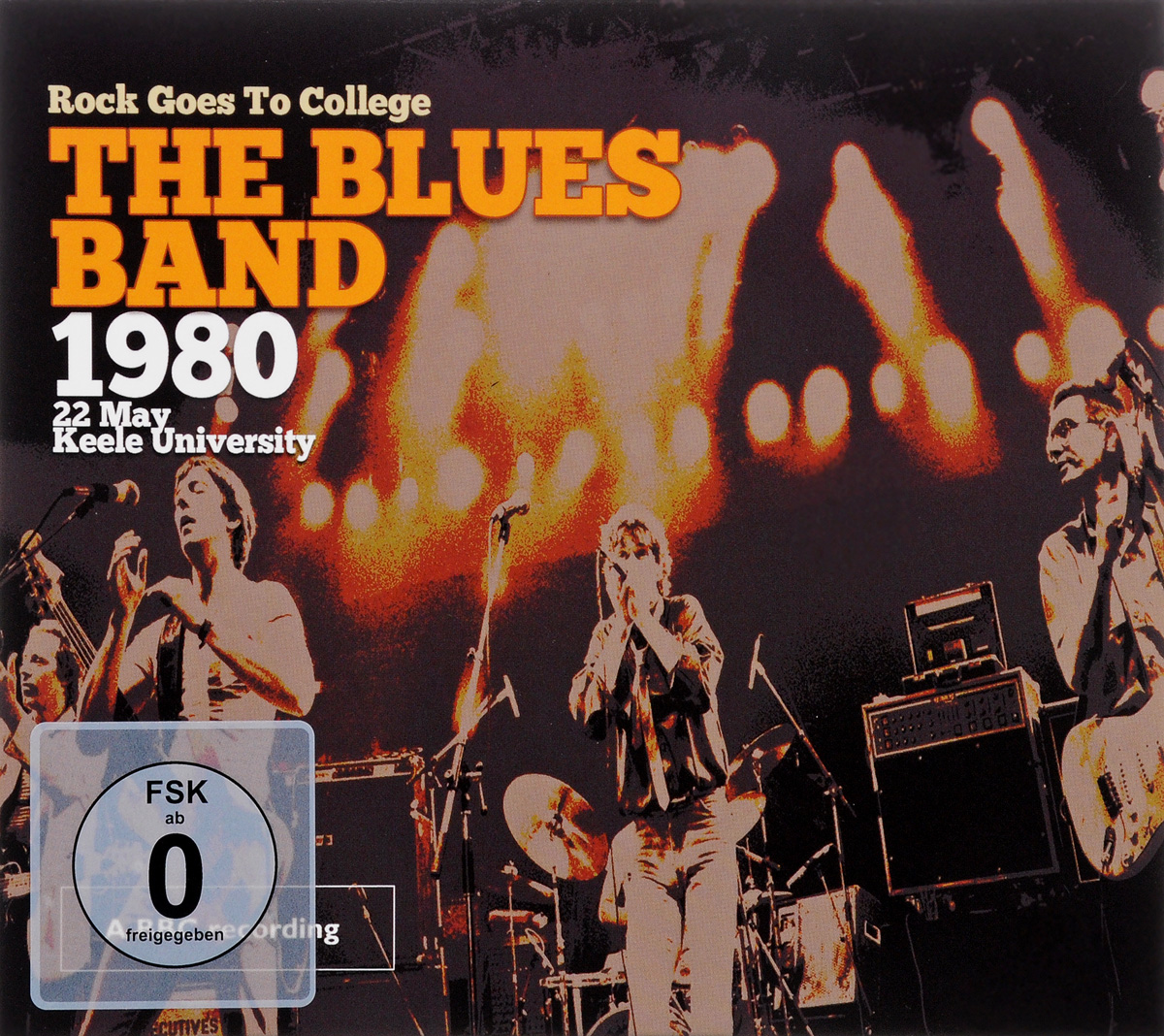 Blues Band The Blues Band. 1980. Rock Goes To College (CD + DVD) vox v847a classic wah wah guitar effects pedal