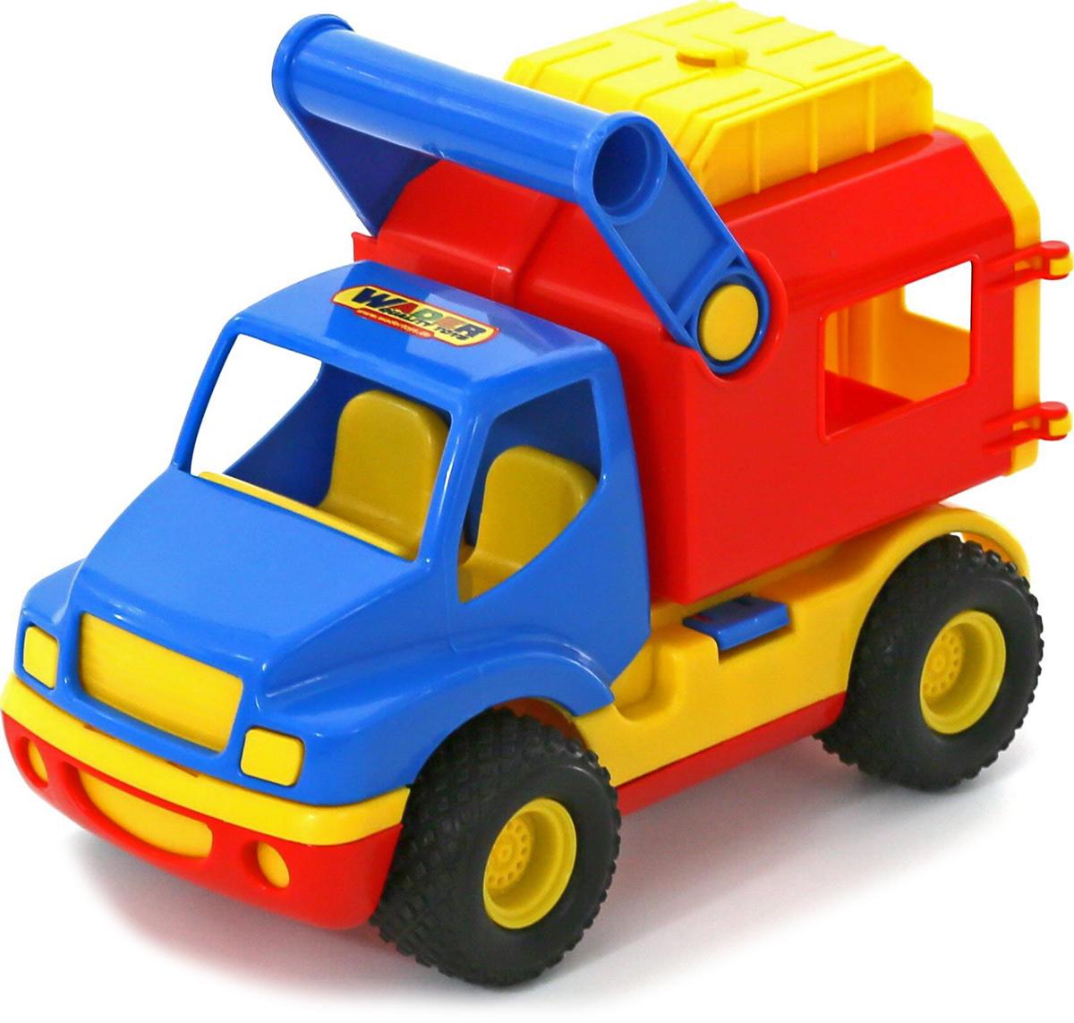 Полесье Фургон КонсТрак полесье коммунальный автомобиль констрак