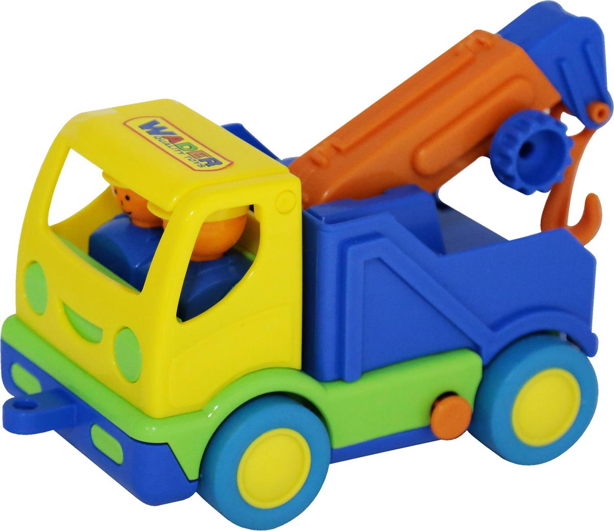 Полесье Эвакуатор Мой первый грузовик цвет желтый синий автомобиль пожарный полесье мой первый грузовик 40152