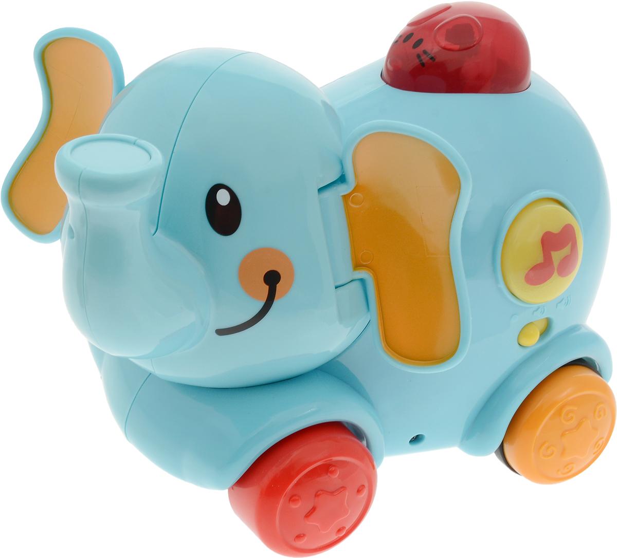 Win Fat Радиоуправляемая игрушка Веселый слоненок - Радиоуправляемые игрушки
