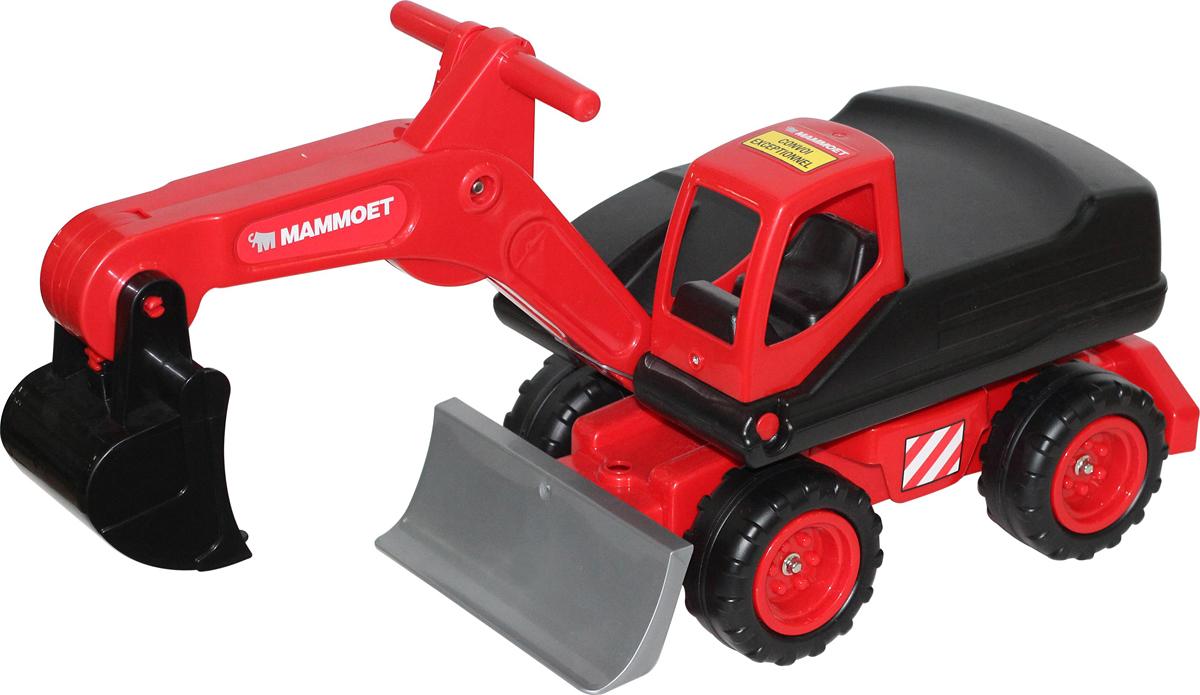 Полесье Мега-экскаватор колесный Mammoet автомобиль кран полесье mammoet с поворотной платформой 56771