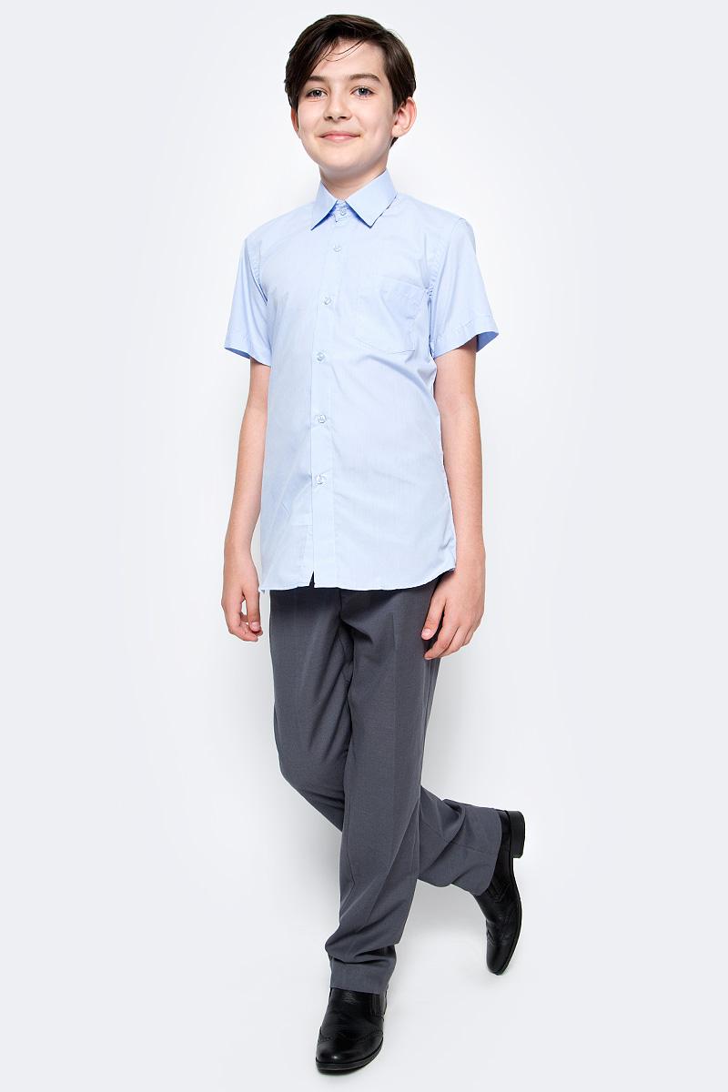 Рубашка для мальчика Nota Bene, цвет: голубой. TC27DSPRB10. Размер 164 платье tutto bene tutto bene tu009ewzwn18