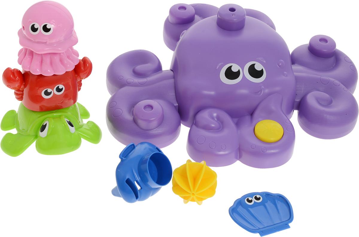 Win Fat Игровой набор для ванной Осьминожка и друзья