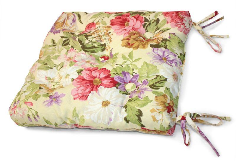 Подушка на стул KauffOrt Идиллия, 40 х 40 см подушка на стул kauffort таня 40 х 40 см