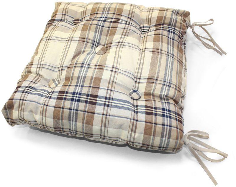 """Подушка на стул KauffOrt """"Осло"""", 40 х 40 см"""