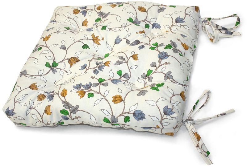 Подушка на стул KauffOrt Лора, 40 х 40 см. 3112020680 подушки pastel подушка на стул