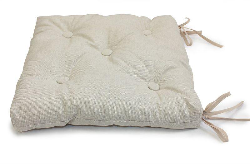 Подушка на стул KauffOrt Лисо, 40 х 40 см подушка на стул kauffort таня 40 х 40 см