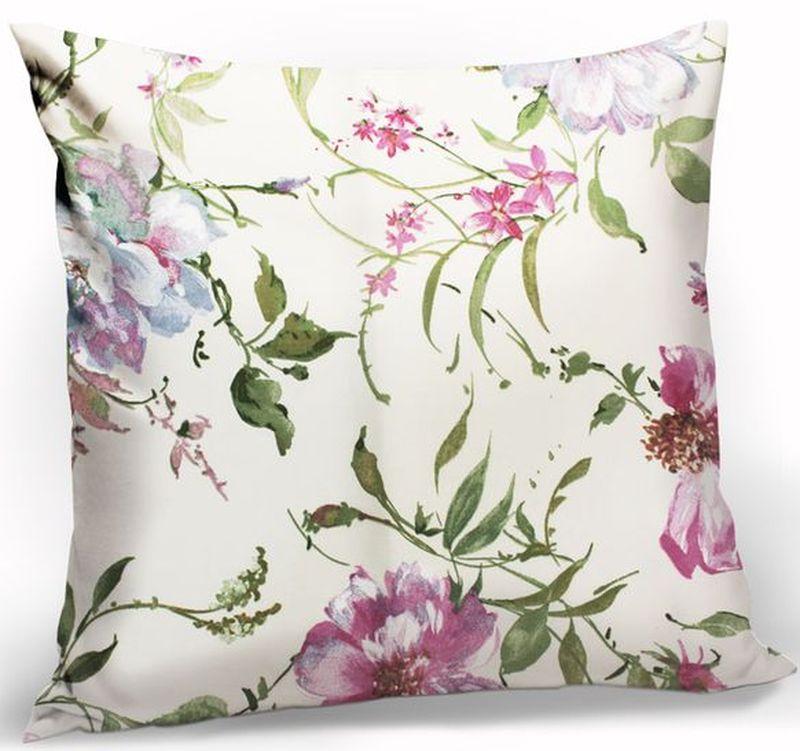 """Декоративная подушка """"KauffOrt """" прекрасно дополнит интерьер спальни или гостиной. Чехол  подушки выполнен из полотна (25% хлопок, 75% полиэстер). Внутри находится мягкий наполнитель.  Чехол легко снимается  благодаря потайной молнии."""