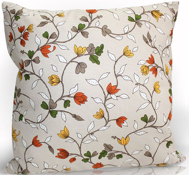 Подушка декоративная KauffOrt Лора, цвет: мультиколор, 40 х 40 см штора легкая kauffort barolo