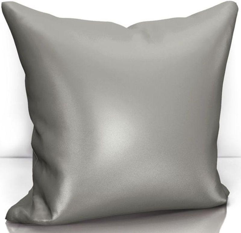 Подушка декоративная KauffOrt Эвелина, цвет: темно-серый, 40 х 40 см штора kauffort barolo k