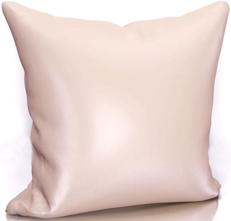 Подушка декоративная KauffOrt Эвелина, цвет: розовый, 40 х 40 см3122301671Декоративная подушка KauffOrt  прекрасно дополнит интерьер спальни или гостиной. Чехол подушки выполнен из сатена (100% полиэстер). Внутри находится мягкий наполнитель. Чехол легко снимается благодаря потайной молнии.