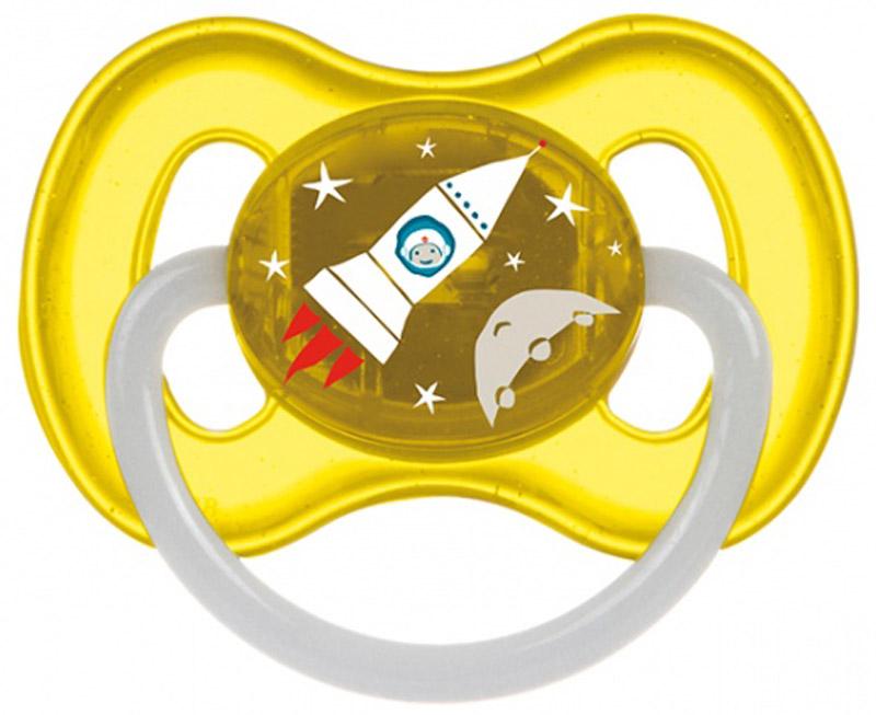 Canpol Babies Пустышка латексная Space от 0 до 6 месяцев