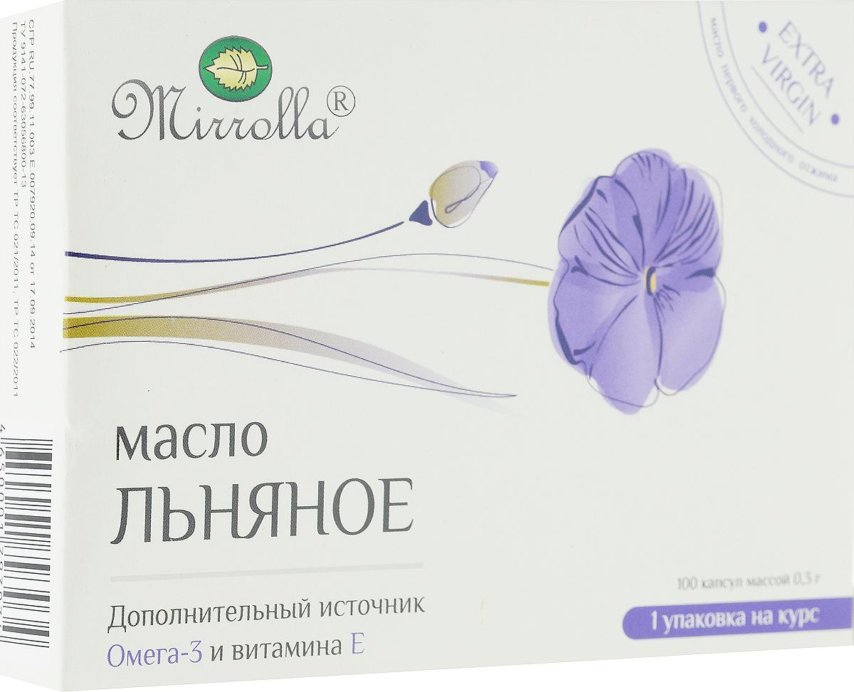 Масло льняное Mirrolla, 100 капсул222996Масло льняное Mirrolla рекомендуется в качестве биологически активной добавки к пище - дополнительного источника альфа-линоленовой кислоты (ПНЖК Омега-3) и витамина Е, содержит линолевую кислоту. Масло типа Extra Virgin - первого холодного отжима.Льняное масло предупреждает болезни сосудов и образование тромбов. Ежедневное употребление льняного масла способствует профилактике развития сердечных приступов, так как из-за уменьшения вязкости крови и нормализации уровня жиров в крови нагрузка на сердце снижается. Употребление в пищу ПНЖК способствует снижению показателей артериального давления. Доказана эффективность льняного масла для профилактики рака молочной железы, а кроме этого льняное масло облегчает течение предменструального синдрома и предменопаузы, улучшает состояние кожи и волос, способствует заживлению поврежденных тканей. Масло семян льна обладает мягчительным, противовоспалительным, обволакивающим, мочегонным, легким слабительным, бактерицидным действием. Льняное масло рекомендуется при воспалении почек и мочевого пузыря, камнях.Желатиновая оболочка позволяет сохранить полезные свойства льняного масла, поэтому капсульная форма выпуска препарата предпочтительнее жидкой формы. Капсулы по 0,3 г. В суточной дозировке содержится 398 мг альфа-линоленовой кислоты (ПНЖК Омега-3) - 57% от рекомендуемой нормы суточного потребления и 6 мг витамина Е - 60% от рекомендуемой нормы суточного потребления. Энергетическая ценность на 100 г: 794 Ккал.Пищевая ценность на 100 г: жиры - 76,68 г, белки - 17,73 г, глицерин - 5,6 г. Состав: масло льняное, витамин Е, оболочка (желатин, глицерин). Противопоказания: индивидуальная непереносимость компонентов продукта, беременность, кормление грудью. Товар не является лекарственным средством. Могут быть противопоказания, следует предварительно проконсультироваться со специалистом. Товар сертифицирован.