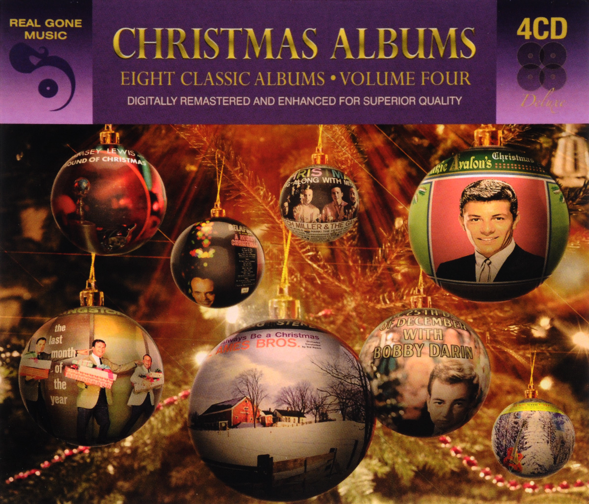 8 Classic Christmas Albums. Volume 4 (4 CD)