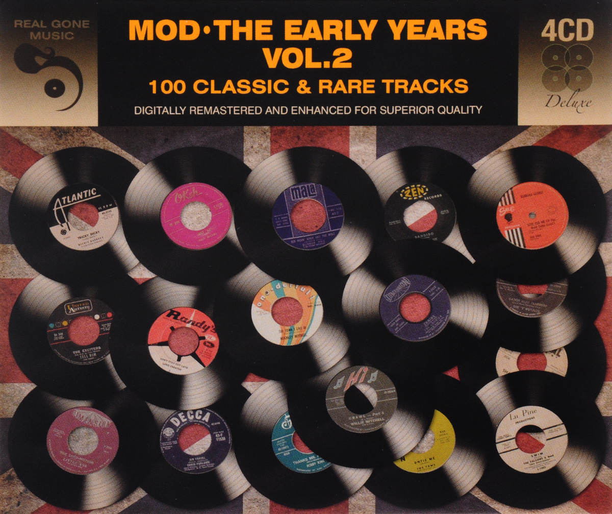 Zakazat.ru Mod. The Early Years. Volume 2. 100 Classic And Rare Tracks (4 CD)