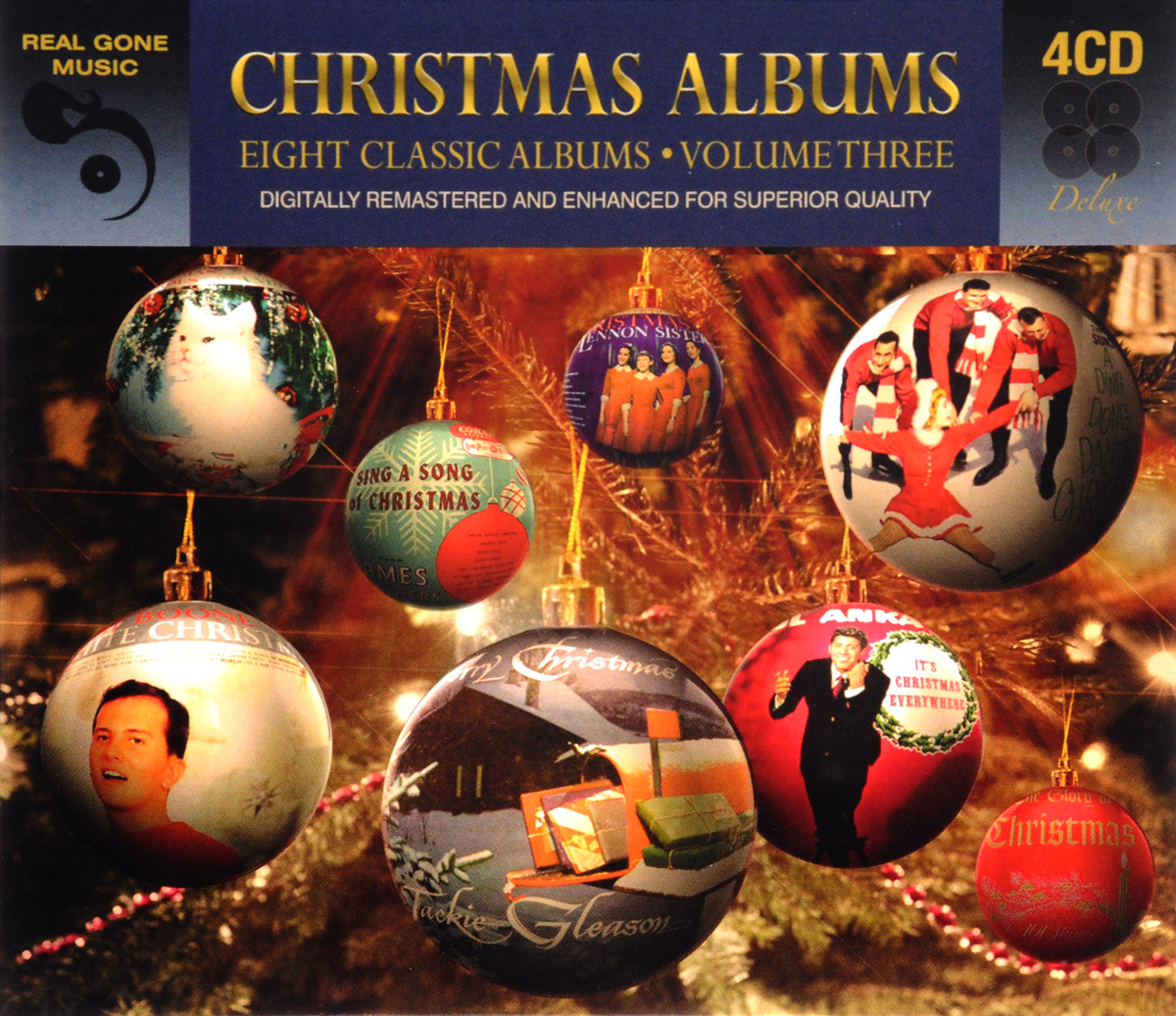 8 Classic Christmas Albums. Volume 3 (4 CD)
