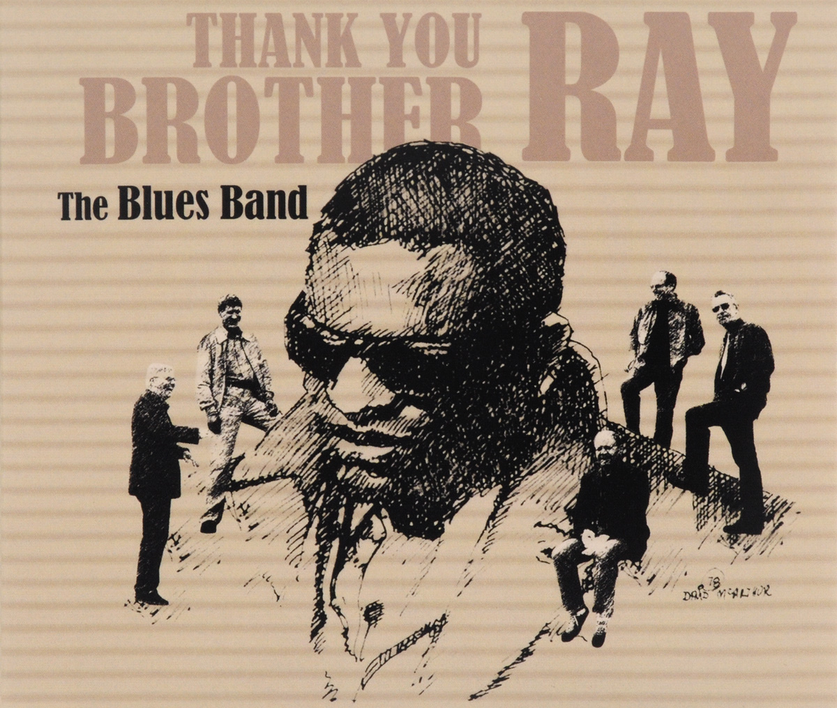 Blues Band The Blues Band. Thank You Brother Ray гэри мур the midnight blues band gary moore