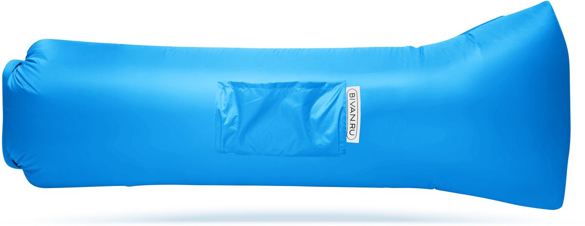 Диван надувной Биван 2.0, цвет: голубой, 190 х 90 смBVN17-ORGNL-AZRБиван 2.0 - это надувной гамак (лежак, диван) второго поколения. Доработанная, более устойчивая и удобная форма. Добавлена мембрана, крепления для подсветки и колышков.Быстронадуваемый. Чтобы подготовить Биван к использованию, понадобится около 15 секунд. Какой насос? Кому теперь нужен насос?! Для любых поверхностей. Биван выполнен из прочного износостойкого текстиля со специальной пропиткой. Ему не страшны трава, камни, вода и песок. Лежите, где хотите. 12 часов релакса. Биван способен удерживать воздух более 12 часов, что позволит вам использовать его и для сна.