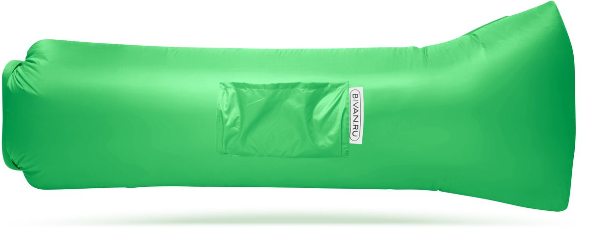 Диван надувной Биван 2.0, цвет: салатовый, 190 х 90 смBVN17-ORGNL-LGRБиван 2.0 - это надувной гамак (лежак, диван) второго поколения. Доработанная, более устойчивая и удобная форма. Добавлена мембрана, крепления для подсветки и колышков.Быстронадуваемый. Чтобы подготовить Биван к использованию, понадобится около 15 секунд. Какой насос? Кому теперь нужен насос?! Для любых поверхностей. Биван выполнен из прочного износостойкого текстиля со специальной пропиткой. Ему не страшны трава, камни, вода и песок. Лежите, где хотите. 12 часов релакса. Биван способен удерживать воздух более 12 часов, что позволит вам использовать его и для сна.