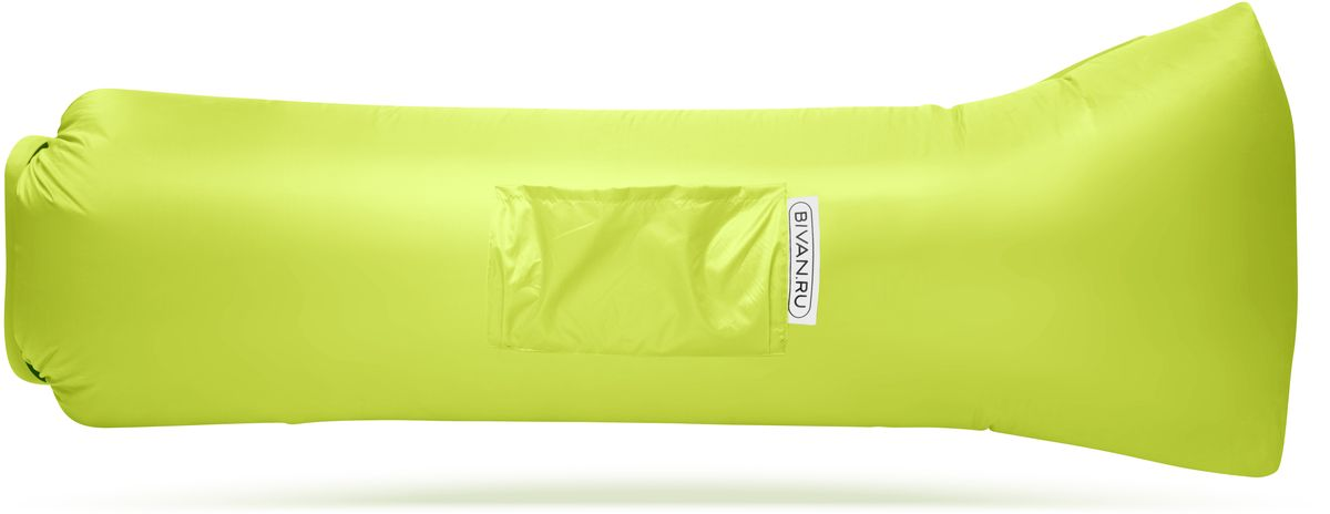 Диван надувной Биван 2.0, цвет: лимонный, 190 х 90 смBVN17-ORGNL-LMEБиван 2.0 — надувной гамак (лежак, диван) второго поколения. Отличается от оригинала продвинутой анатомической формой. Он стал более плоским — поэтому повысилась его устойчивость. Мы добавили подушку в изголовье, а также специальную мембрану, позволяющую спать лицом вниз. Верхний слой Бивана 2.0 выполнен из ткани с водоотталкивающей пропиткой. А еще у Бивана появилось два крепления для подсветки и два крепления для колышка. Быстронадуваемый. Чтобы подготовить Биван к использованию, понадобится около 15 секунд. Какой насос? Кому теперь нужен насос?! Для любых поверхностей. Биван выполнен из прочного износостойкого текстиля со специальной пропиткой. Ему не страшны трава, камни, вода и песок. Лежите, где хотите. 12 часов релакса. Биван способен удерживать воздух более 12 часов, что позволит вам использовать его и для сна.