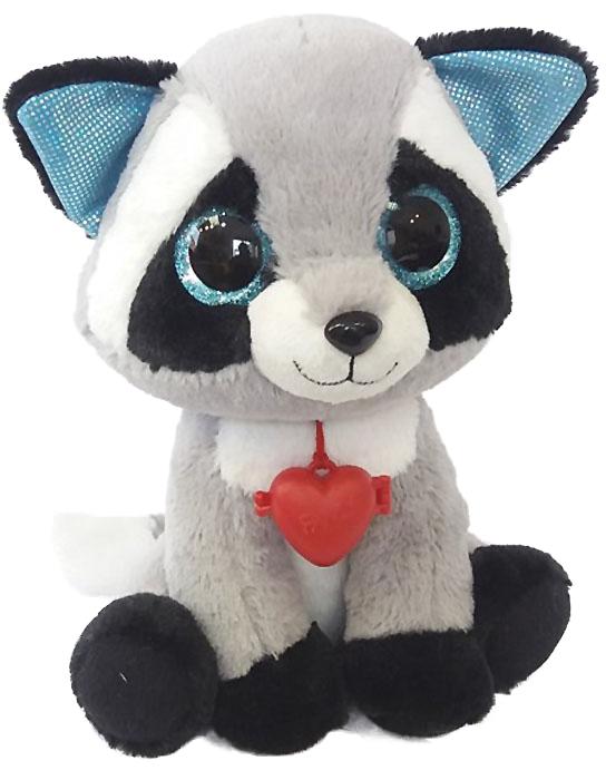 Fancy Мягкая игрушка Енот с кулоном 22 см fancy мягкая игрушка собака сплюшка 70 см 378752