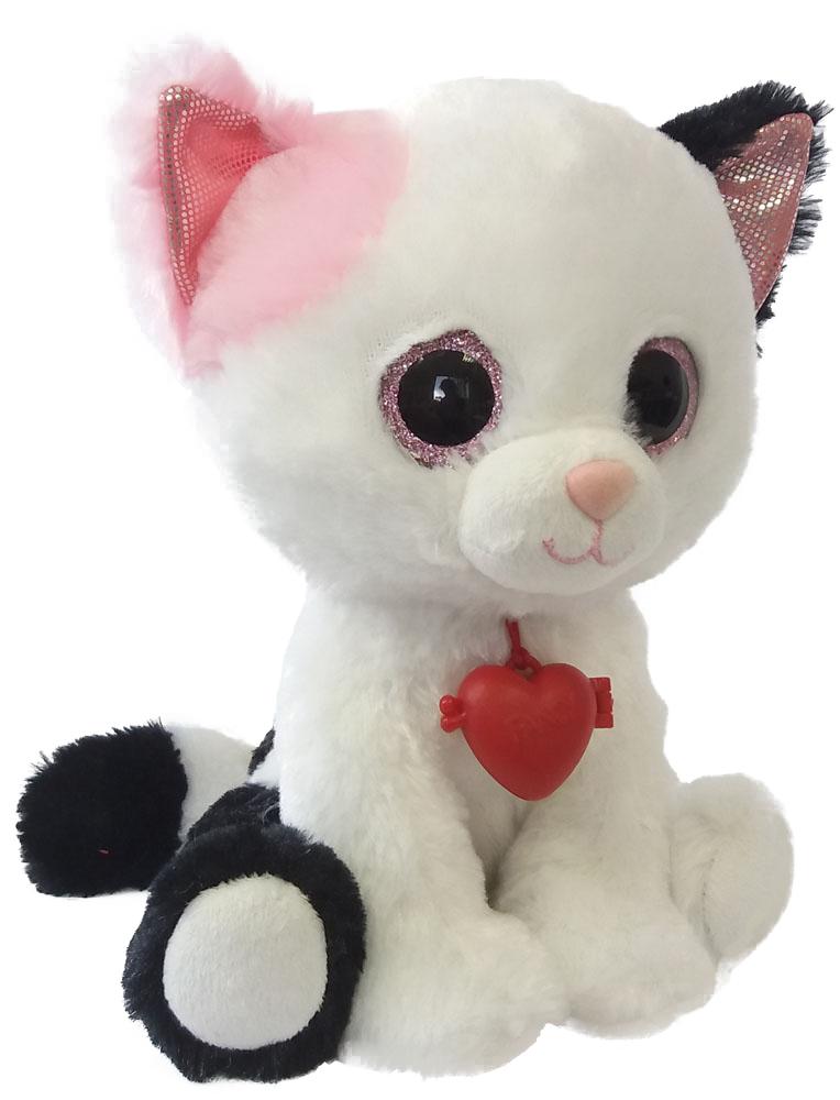 Fancy Мягкая игрушка Кот с кулоном 22 см fancy мягкая игрушка сова с кулоном 21 см