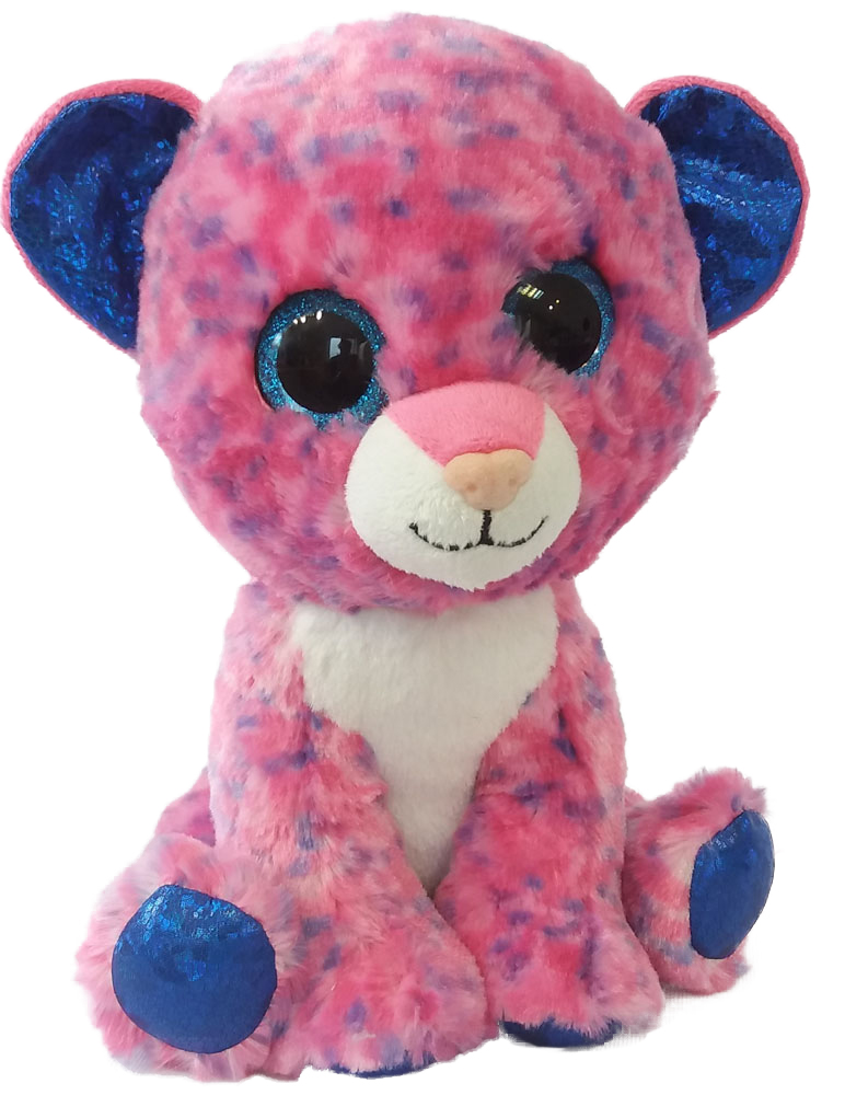 Fancy Мягкая игрушка Леопард 23 см GLP0R fancy мягкая игрушка собака эля 14 5 см