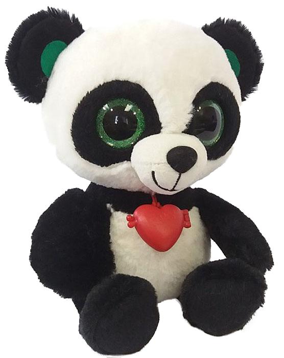 Fancy Мягкая игрушка Панда с кулоном 21 см fancy мягкая игрушка собака сплюшка 70 см 378752