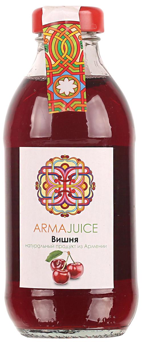 ARMAjuice нектар вишневый, 0,33 л4850001115663Восстановлен из концентрированного вишневого сока.