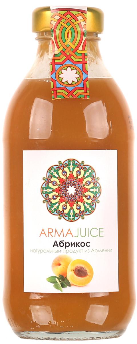 ARMAjuice нектар абрикосовый, 0,33 л4850001116Нектар Абрикосовый изготовлен из абрикосового сока прямого холодного отжима. Минимальная объемная доля сока не менее 41%.