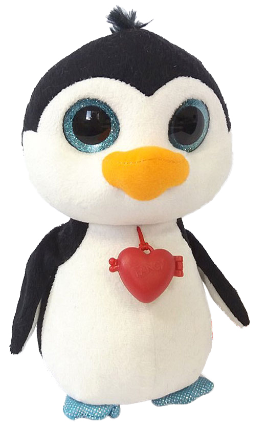 Fancy Мягкая игрушка Пингвин с кулоном 23 см fancy мягкая игрушка сова с кулоном 21 см