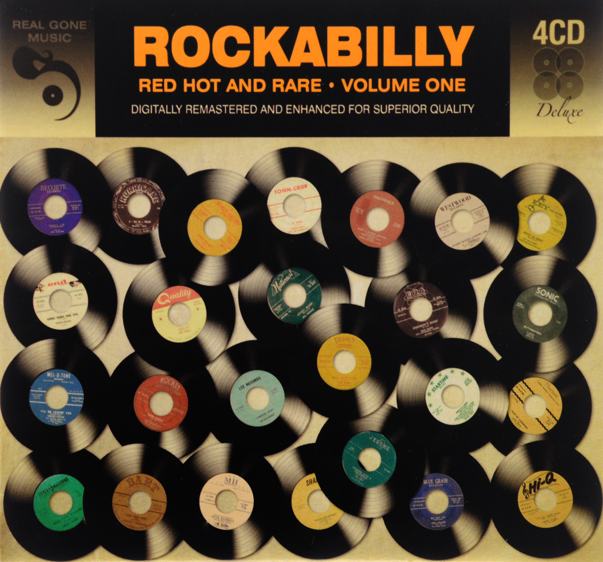 Rockabilly Red Hot & Rare. Volume 1 (4 CD)