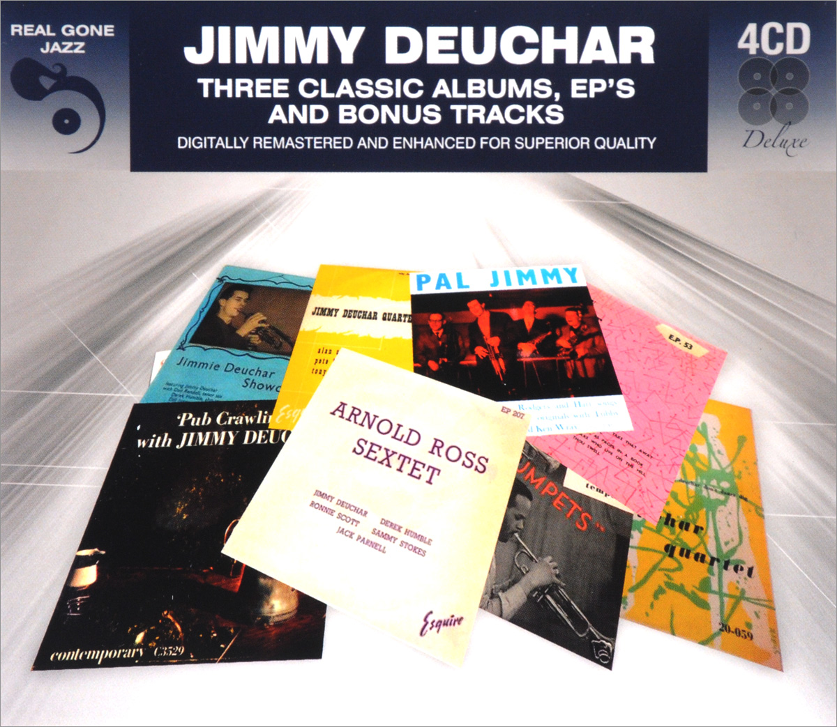 цена на Jimmy Deuchar Jimmy Deuchar. 3 Classic Albums Plus Bonus Tracks (4 CD)