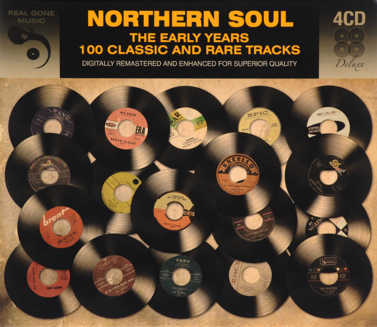 Northern Soul The Early Years (4 CD)
