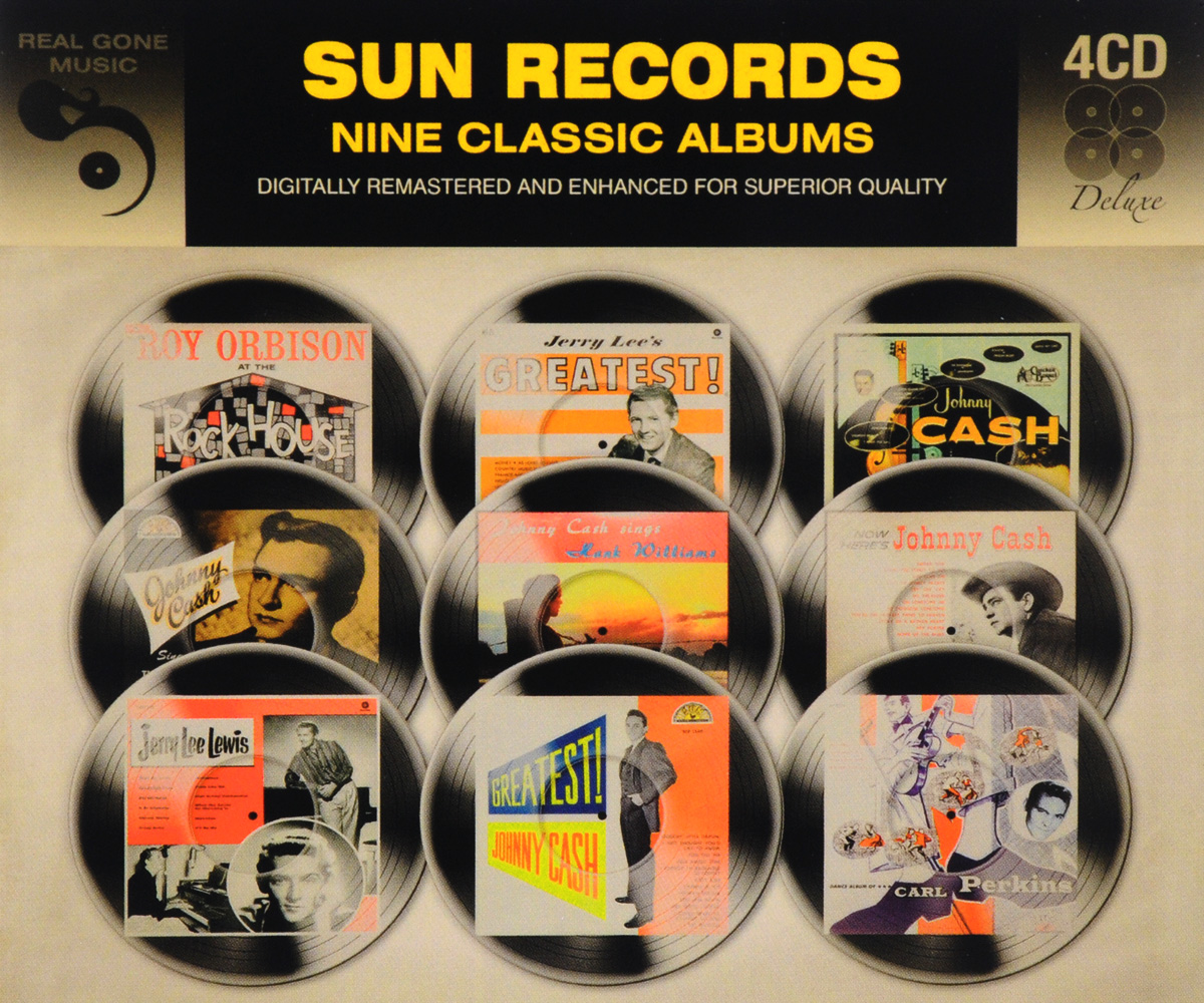 Фото - Sun Records. 9 Classic Albums (4 CD) real madrid zalgiris kaunas