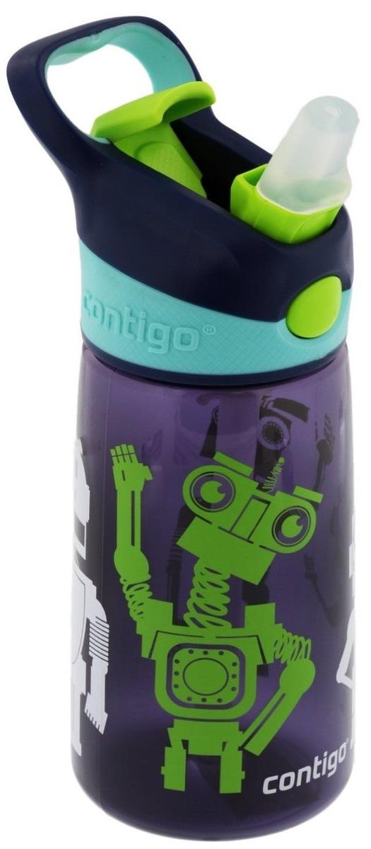 ContigoДетская бутылочка для воды Striker цвет темно-синий Contigo