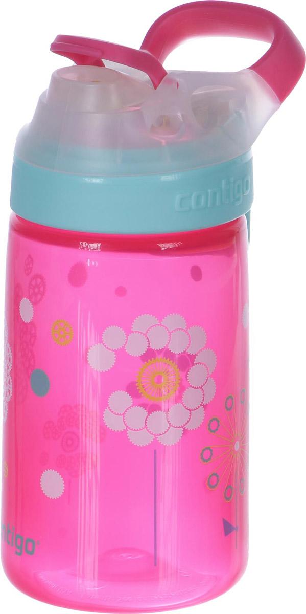 Contigo Детская бутылочка для воды Gizmo Sip 420 мл цвет розовый детская бутылочка